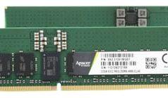 Memorias DRAM industriales DDR5 RDIMM para servidores