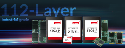 SSDs 3D TLC de 112 capas de categoría industrial