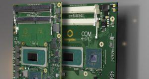 Módulos COM con procesadores Intel Core de XI generación