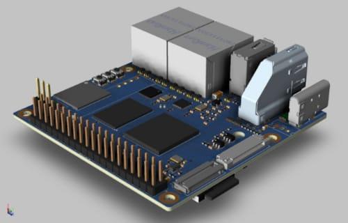 Banana Pi BMP-MS2 SBC con procesador Amlogic A311D para IA