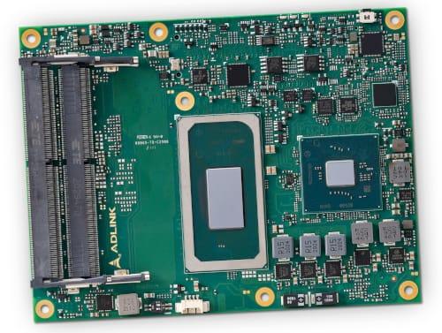 Tarjeta CPU completa en módulo Express-TL