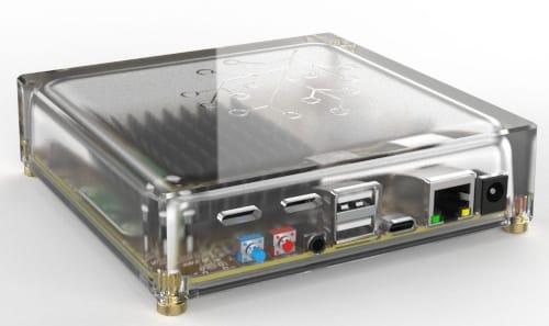 Portadora Raspberry Pi CM4 Amber
