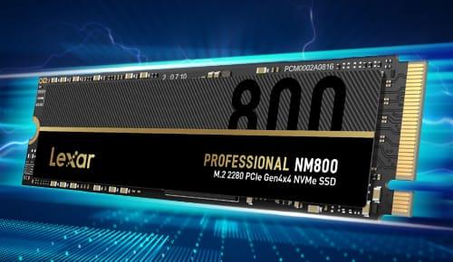 SSD de estado sólido NM800 M.2 2280 PCIe Gen4x4 NVMe