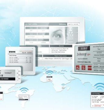Soluciones de tinta electrónica para aplicaciones AIoT