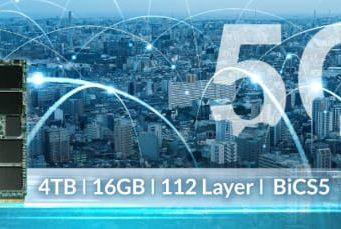 SSD industrial PCIe 4.0 para 5G y AIoT
