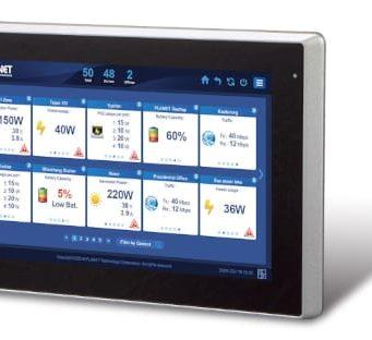 NMS-360V Controlador con gestión PoE inteligente