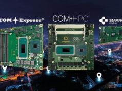 Módulos de computación para control industrial de Congatec