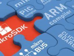 SDK para aplicaciones embebidas mikroSDK